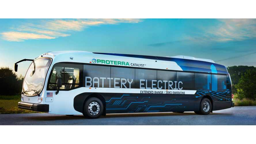 SamTrans Fleet Is Going 100% Electric, Starts With Proterra Bus Order