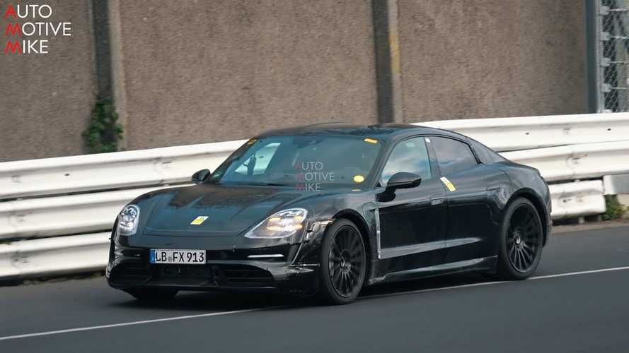 Watch As Porsche Taycan Brings Fake Exhaust To The Nurburgring