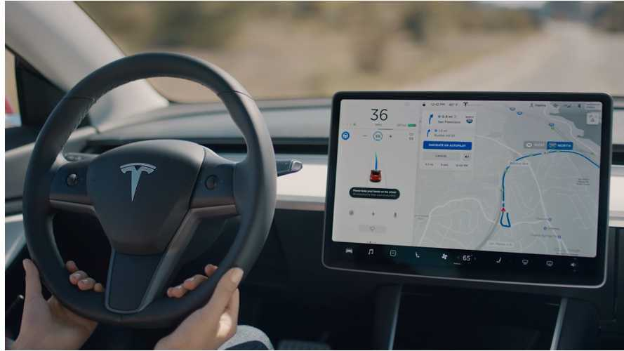 Watch Tesla's Demo Video For Navigate On Autopilot