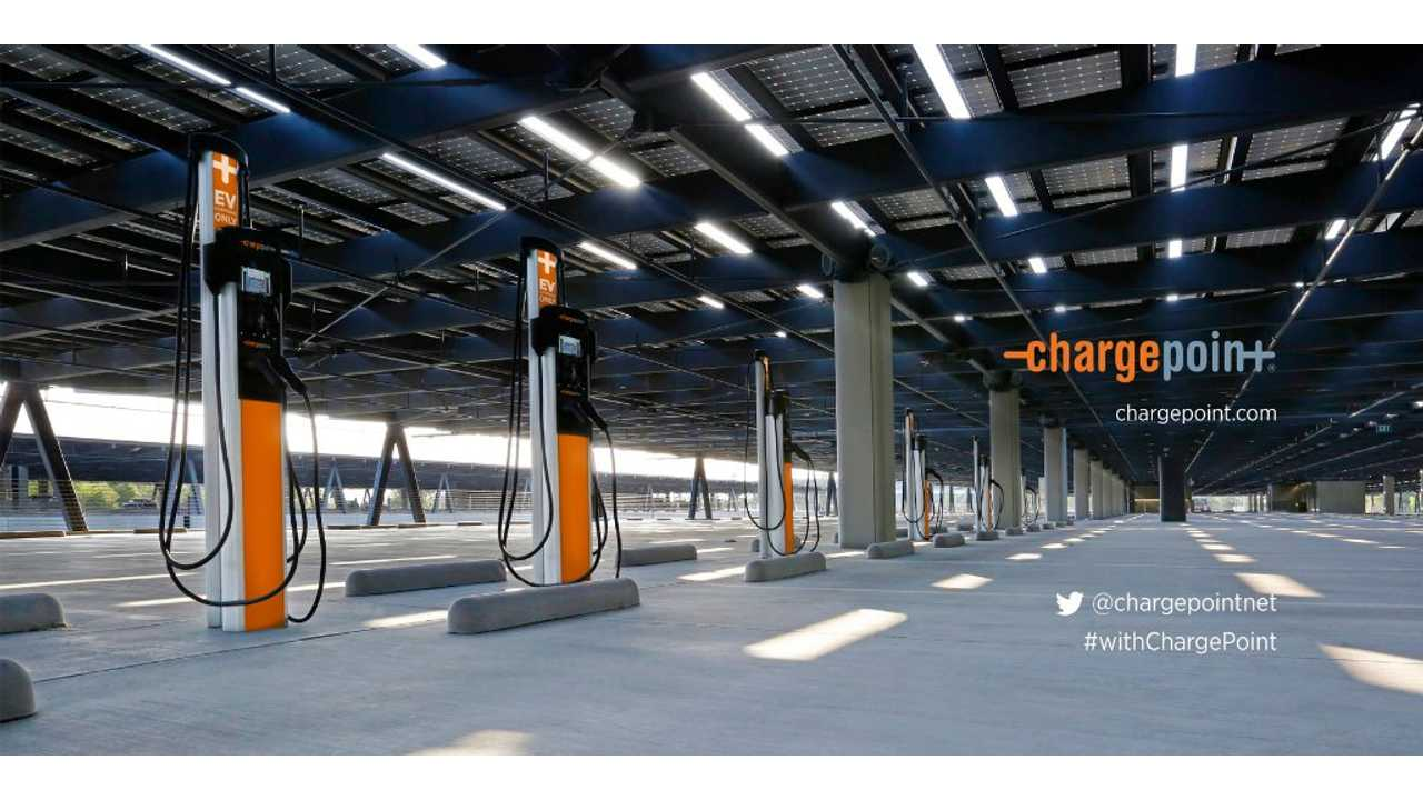ChargePoint To Install 2.5 Million Charging Points By 2025