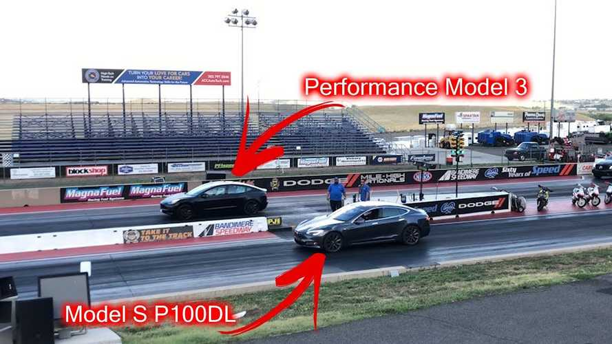 Watch Tesla Model 3 Performance Race Challenger, Model X, Model S
