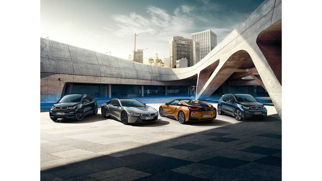 Almost 7% Of BMW Group Car Sales Plugged In: August 2018