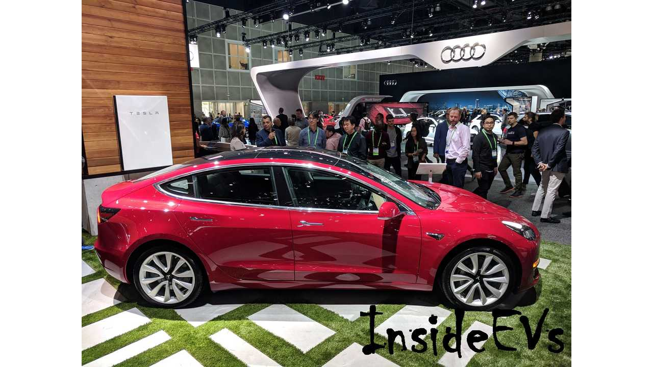 It Seems The Automotive Press Is Enamored With The Tesla Model 3