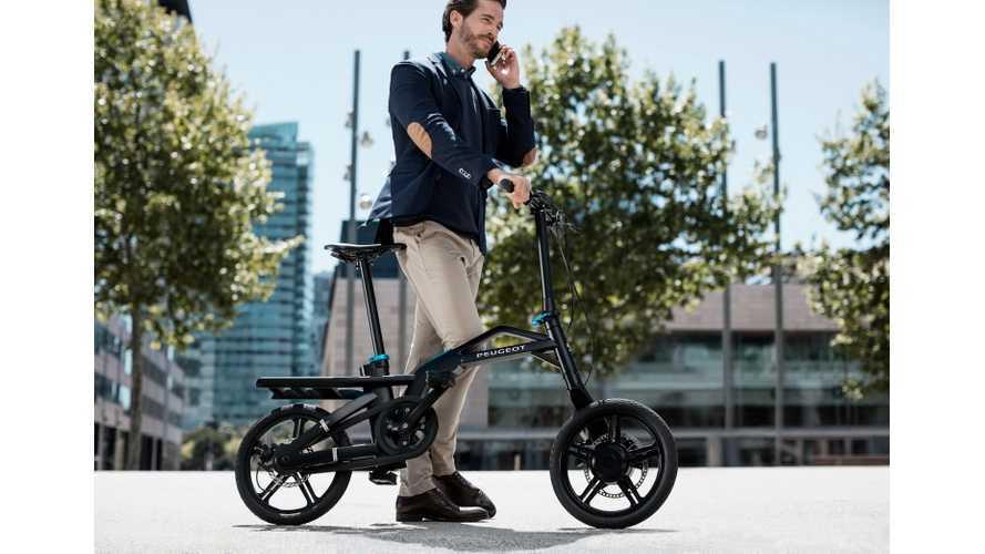 Peugeot eF01 e-Bike
