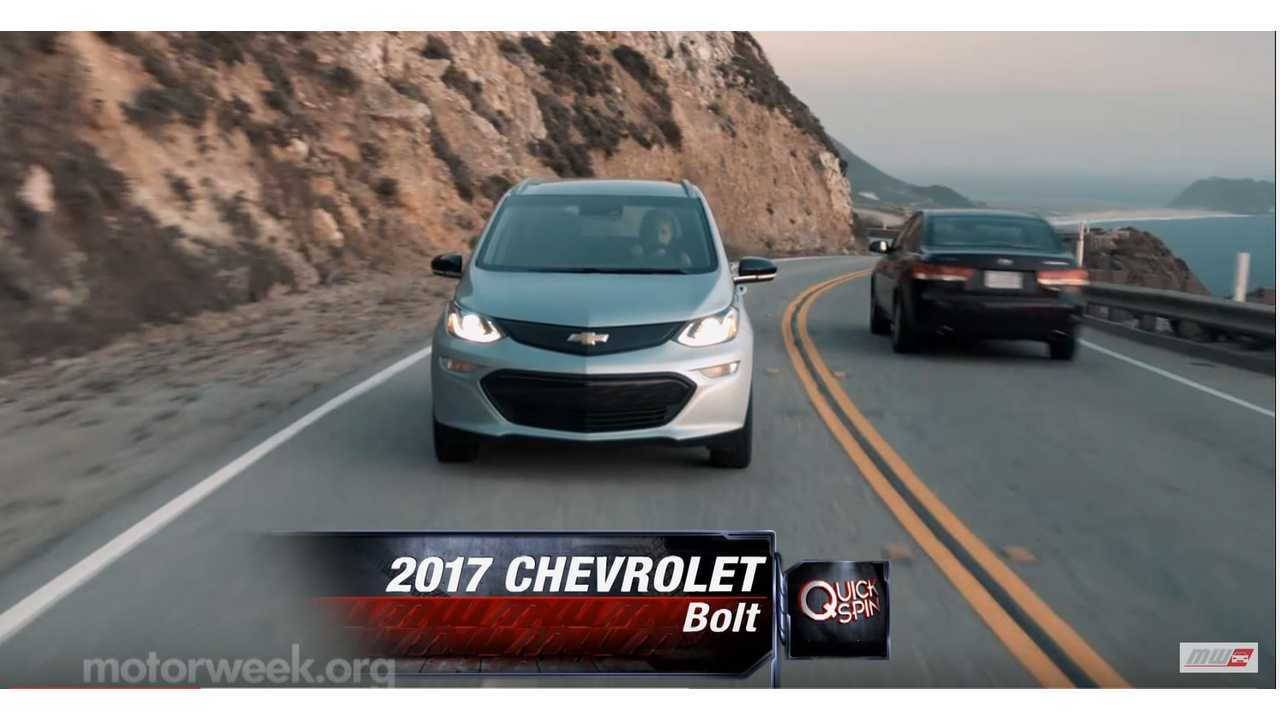 MotorWeek's Quick Spin In Chevrolet Bolt - Video