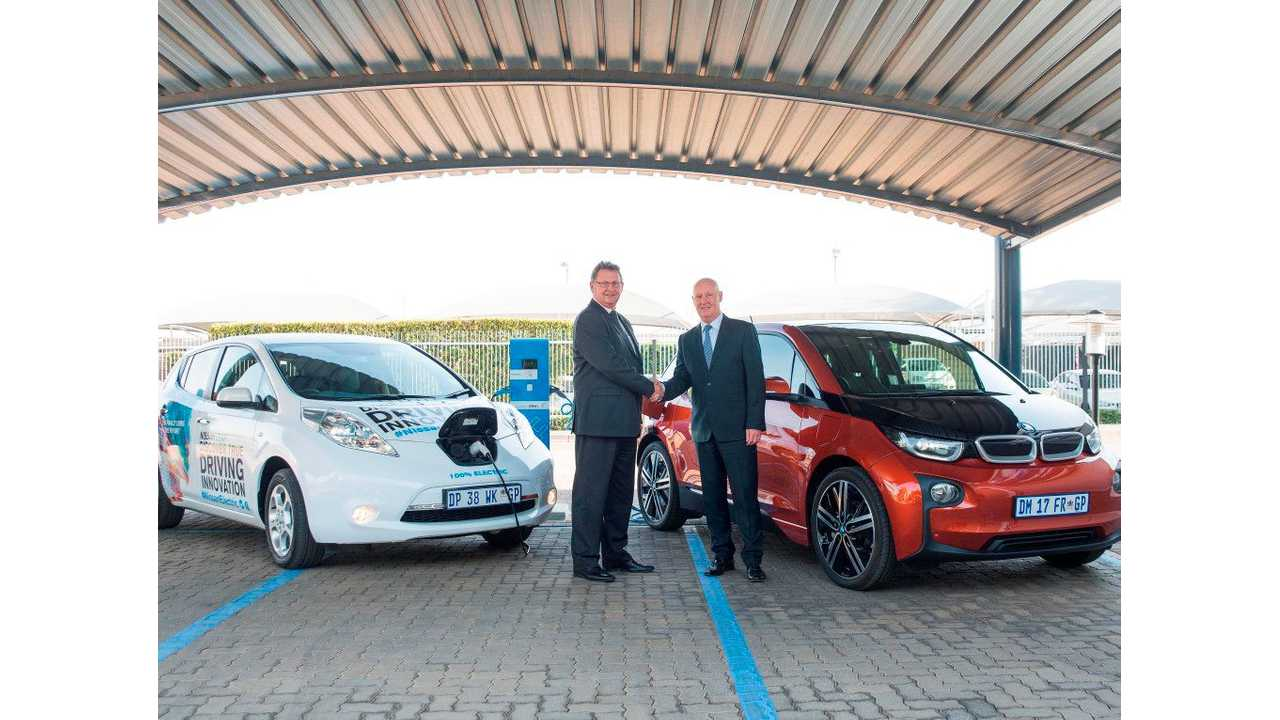 Nissan, BMW To Roll Out Network Of Fast Chargers In South Africa