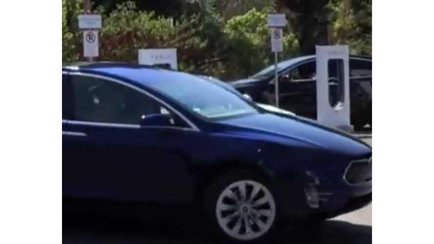 Tesla Model X Spy Video Shows Production-Ready Version