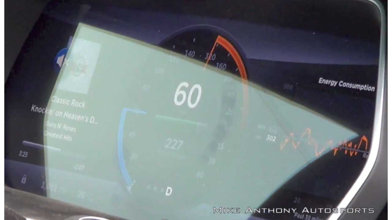 Tesla Model S 85D 0-60 - Mike Anthony