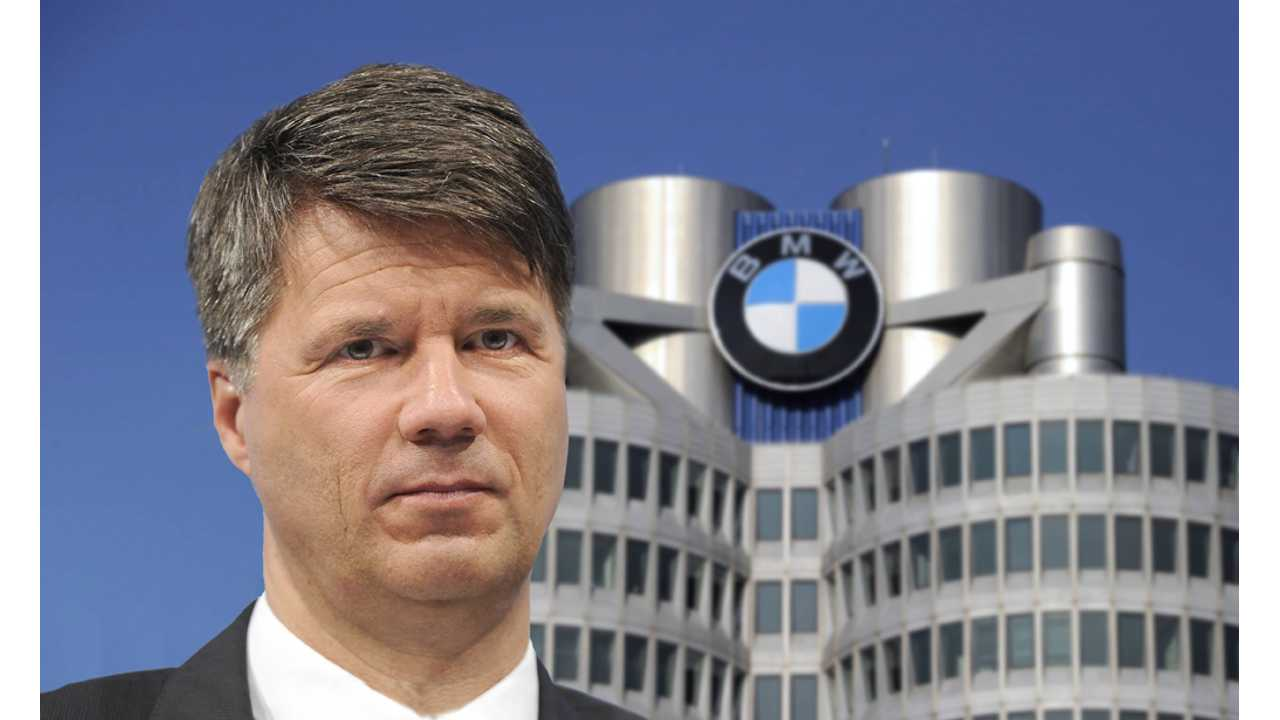 BMW CEO Krueger Returns To Work After Fatigue-Related Collapse In Frankfurt - Video