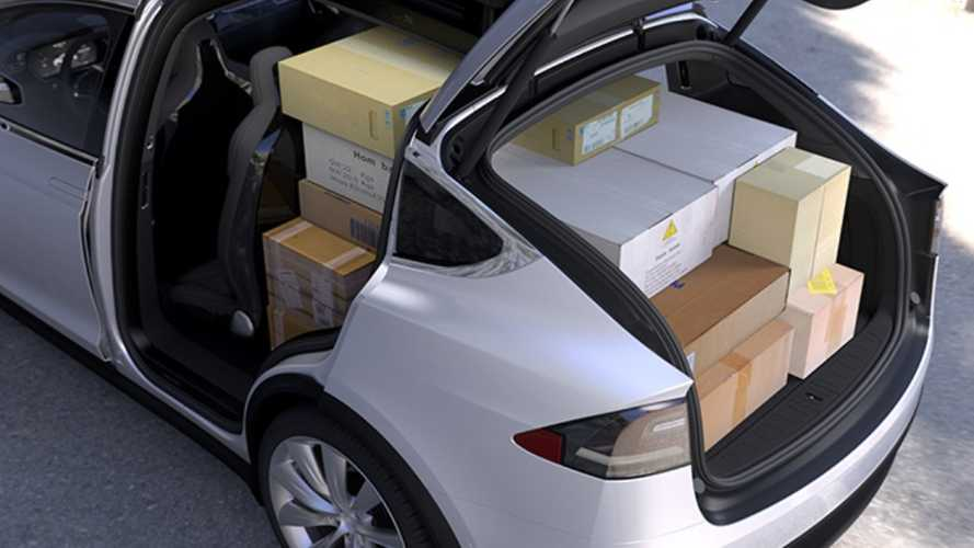 Tesla Model X Rear Seat/Storage Revealed, P90D Ranged Upped To 250 Miles
