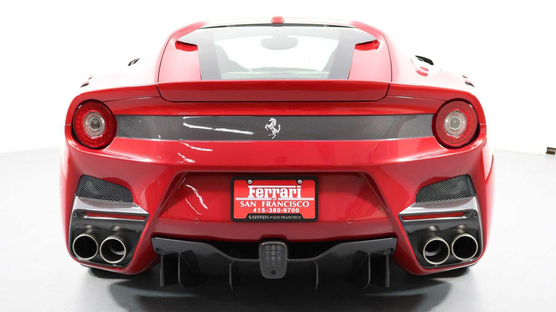 """[""""Enjoy Track-Level Performance In A 2016 Ferrari F12TDF""""]"""