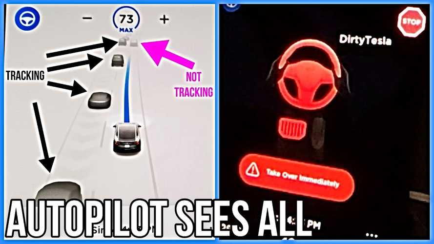 Tesla's New Software Update: Adjacent Lane Speed & Stop Sign Detection