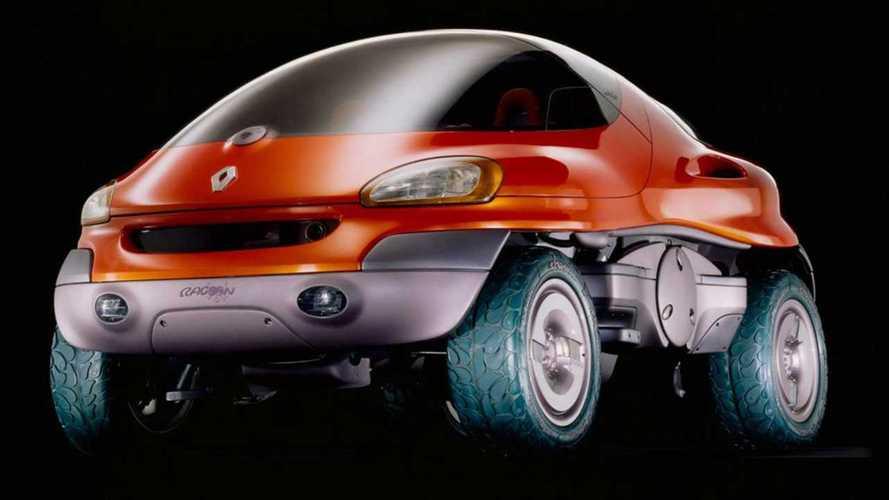 Concept oublié  - Renault Racoon, le SUV flottant