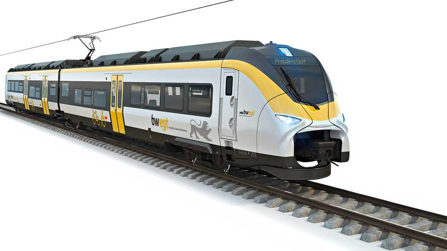 Siemens Receives First Order For Battery-Powered Trains