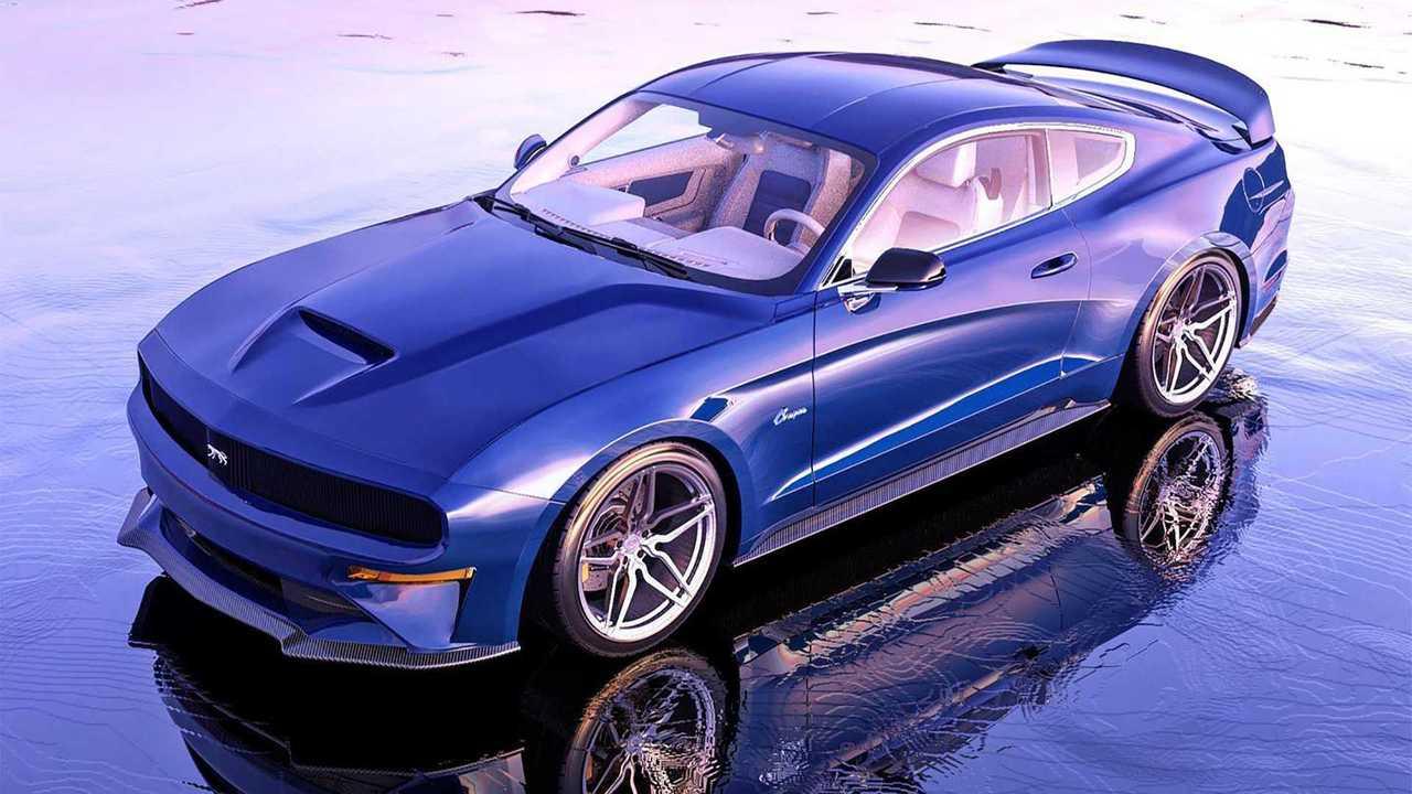 2021 Mercury Cougar Renderings Imagine A Luxury Mustang