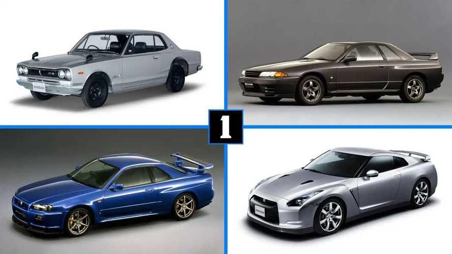 Nissan GT-R: 50 лет успеха в 7 слайдах