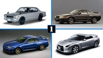 Nissan GT-R, 50 años de historia