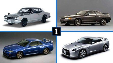 50 años del Nissan GT-R: una interesante mirada atrás