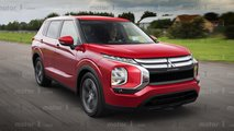 Mitsubishi Outlander Exclusive Motor1 Renderings
