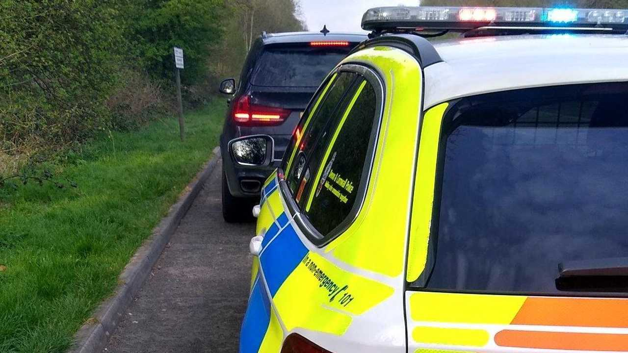 Police pull BMW over on Easter Sunday in Cornwall (@RoadPolAlliance - Twitter )
