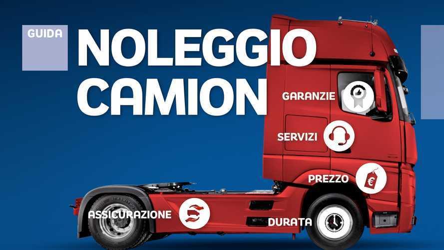 Noleggio camion, le offerte delle aziende