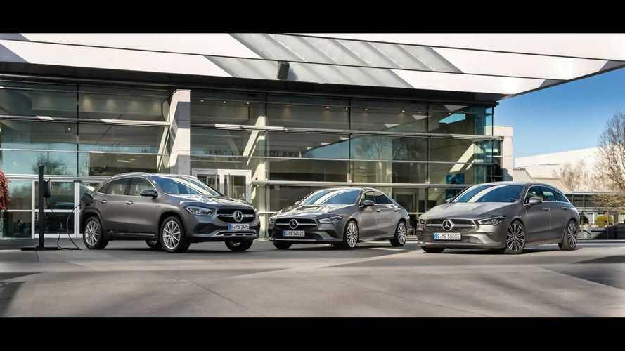 Mercedes CLA 250 e und GLA 250 e (2020)