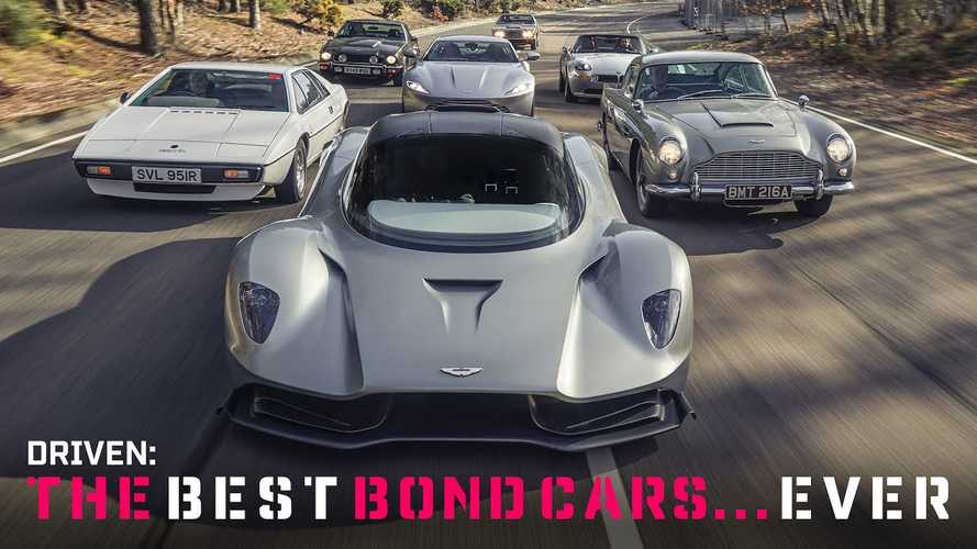 Top Gear Drives The Most Iconic Bond Cars