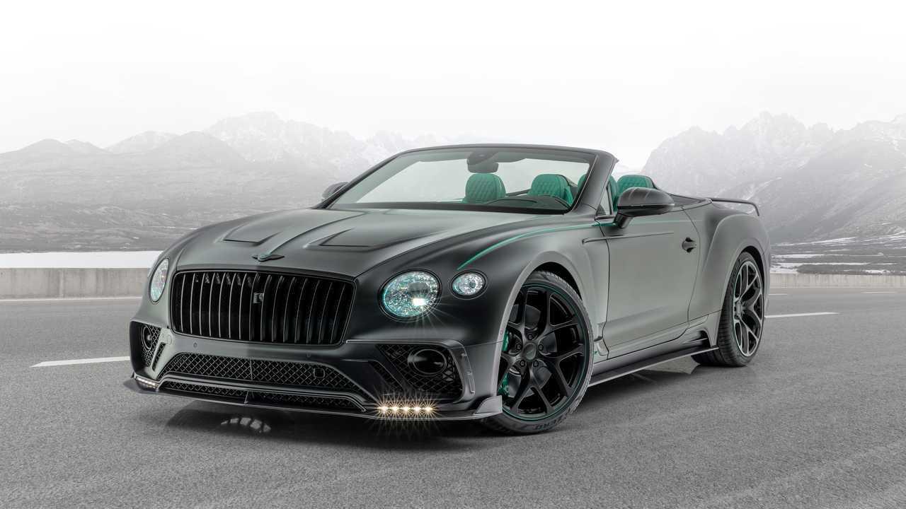 Mansory Bentley Continental GT kabrió