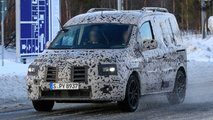 mercedes citan spied first time