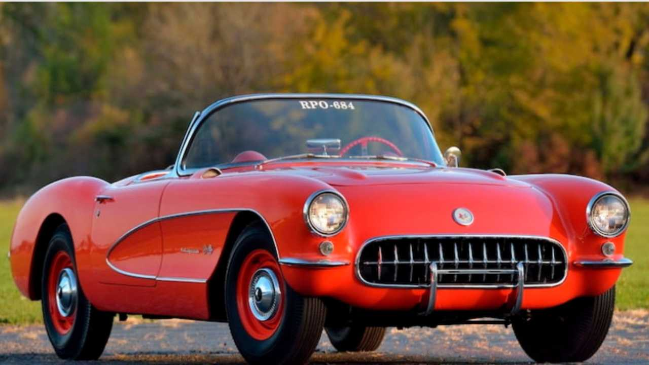Bid On An Ultra-Rare 1957 Chevy Corvette Big Brake Fuelie