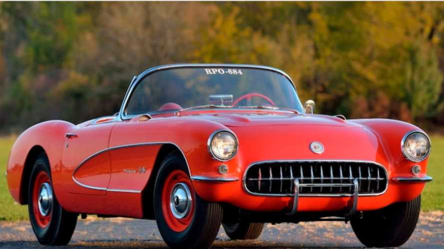Bid On An Ultra-Rare 1957 Chevy Corvette Big Brake Fuelie