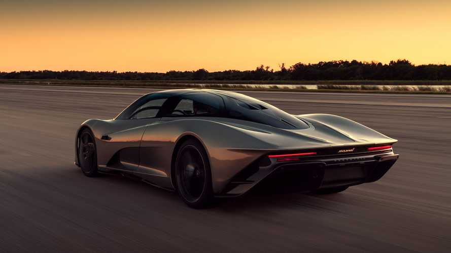 El McLaren Speedtail alcanza los 403 km/h en el Kennedy Space Center