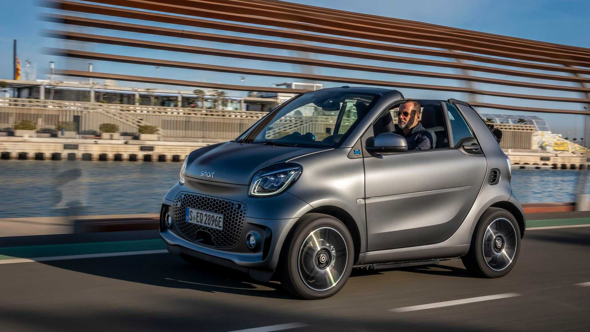 FITS SMART FORTWO COUPE CABRIOLET CITY PULSE L GREY SITCH