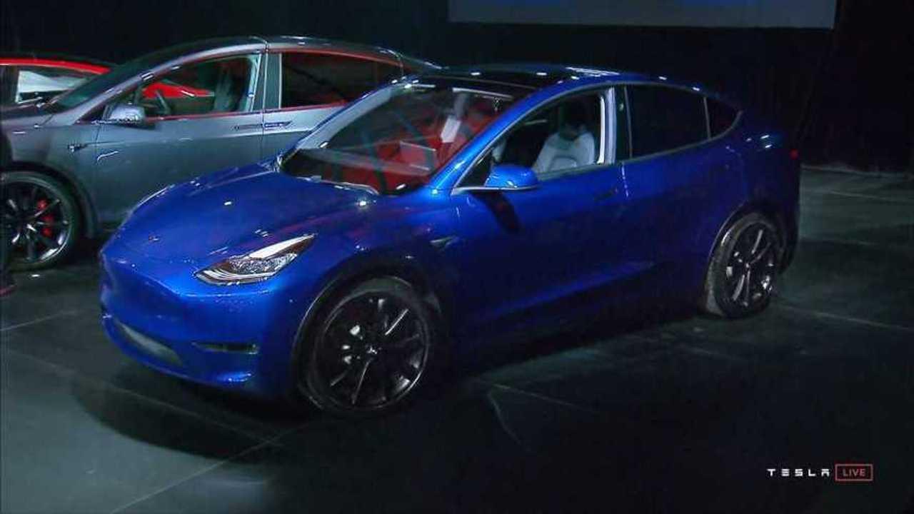 Tesla Model Y - March 2019 Prototype