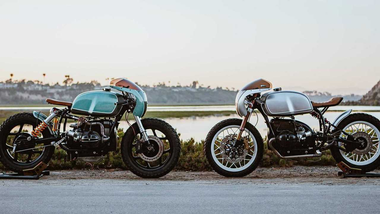 Enter To Win This Amazing Pair Of BMW R100 Cafe Racers