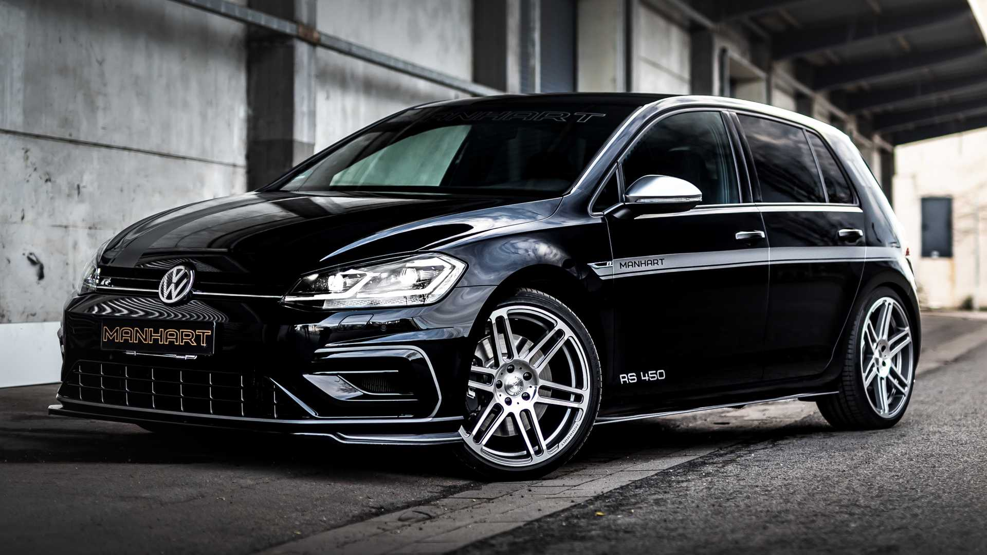 Vw Golf R By Manhart Is A Stealthy Hot Hatch With 450 Horsepower