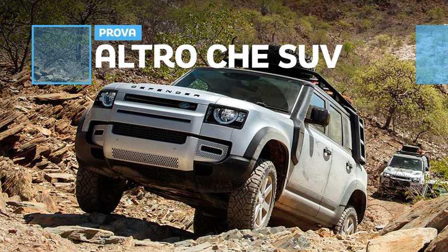 Nuova Land Rover Defender, SUV fuori ma offroad nell'anima
