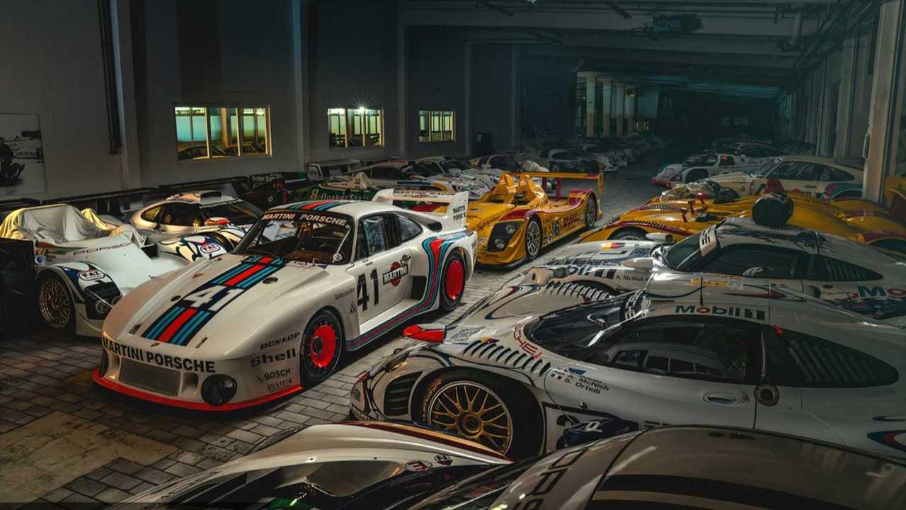 Porsche's museum storage facility hides some rare beauties