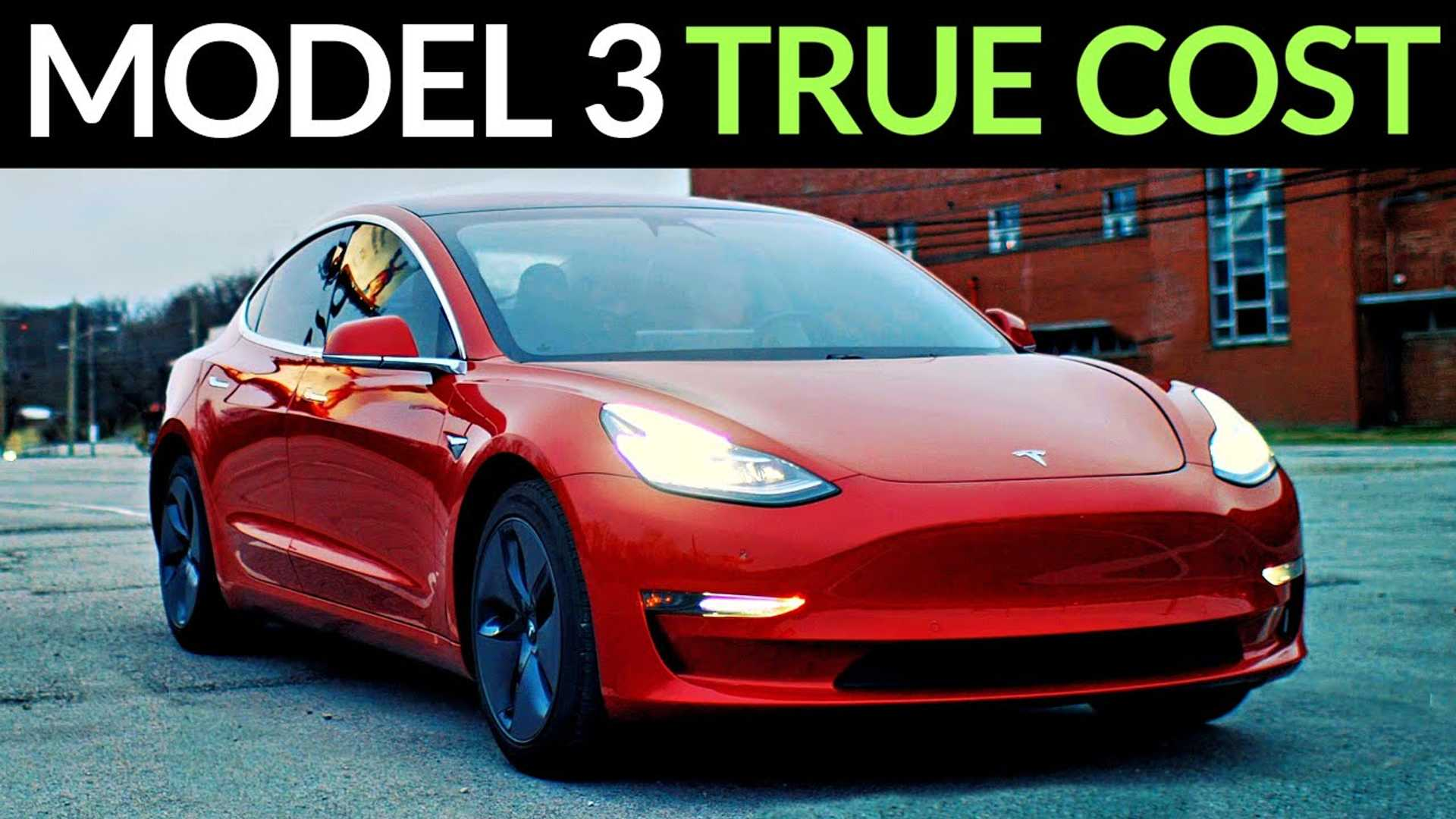 How Much Does It Really Cost To Own A Tesla Model 3 Over Time?