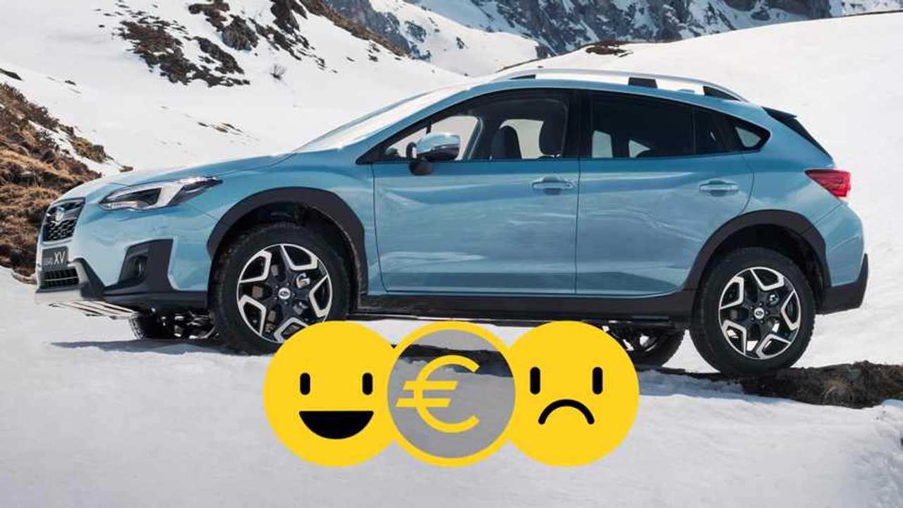 Subaru XV promozione