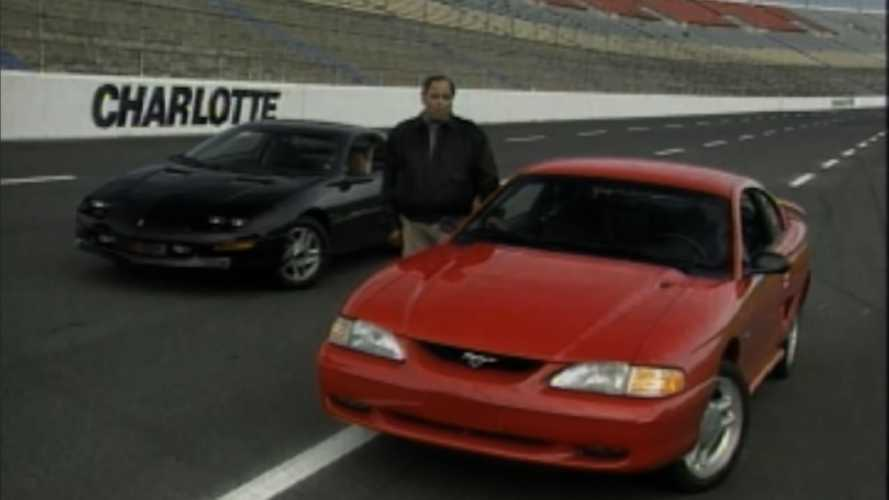 Watch A Vintage Mustang GT Vs Camaro Z28 Review