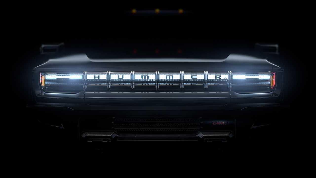 GMC Hummer EV (Рендеринг)