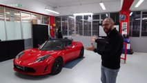Tesla Roadster, la batteria 10 anni dopo