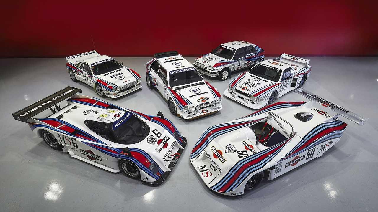 La colección Campion de Lancia y Martini