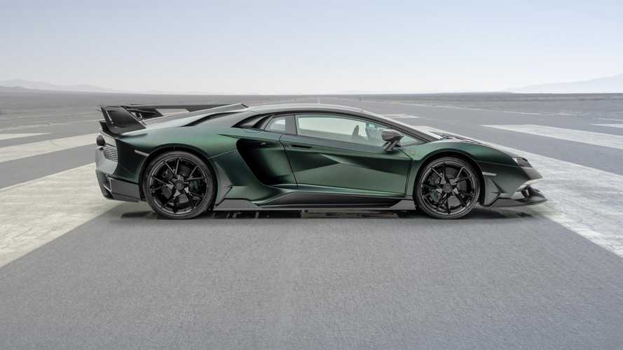 Cabrera Mansory basé sur le Lamborghini Aventador SVJ