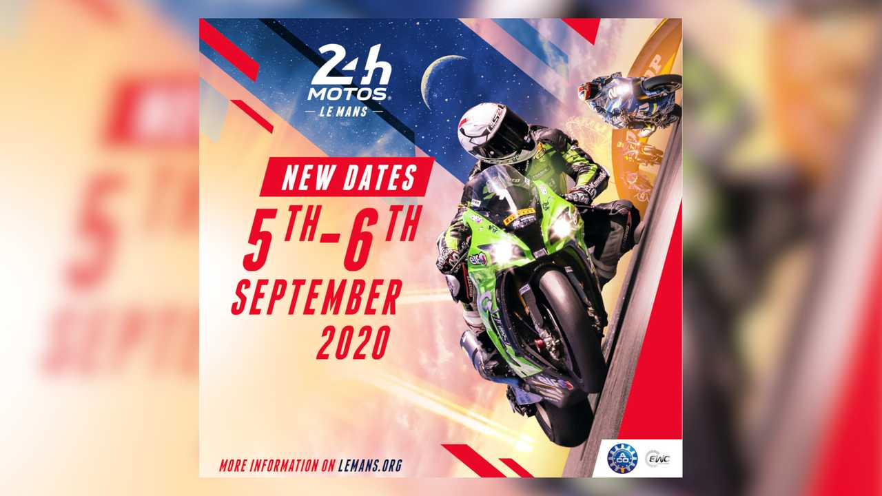 24 Heures Motos Postponement 2020