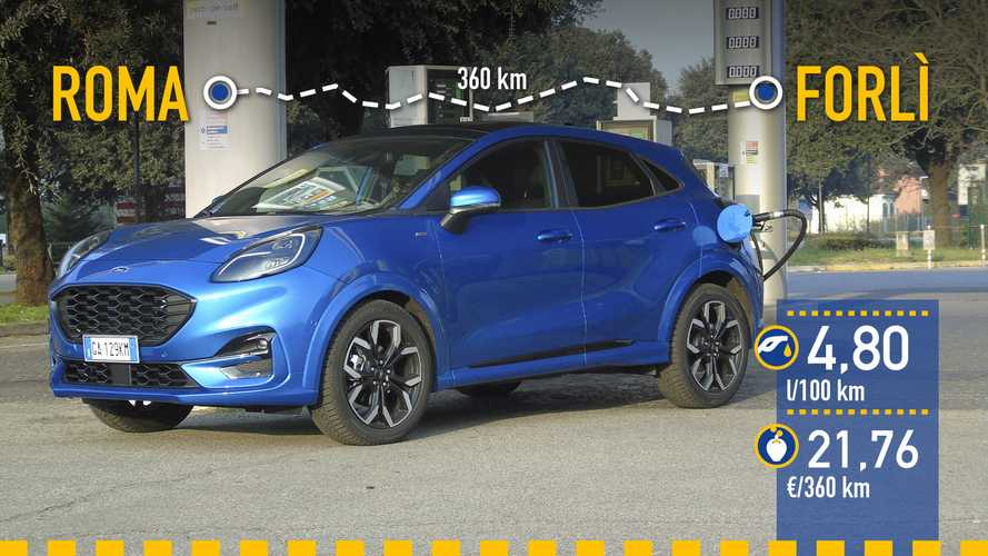 Ford Puma 1.0 EcoBoost MHEV, prueba de consumo real