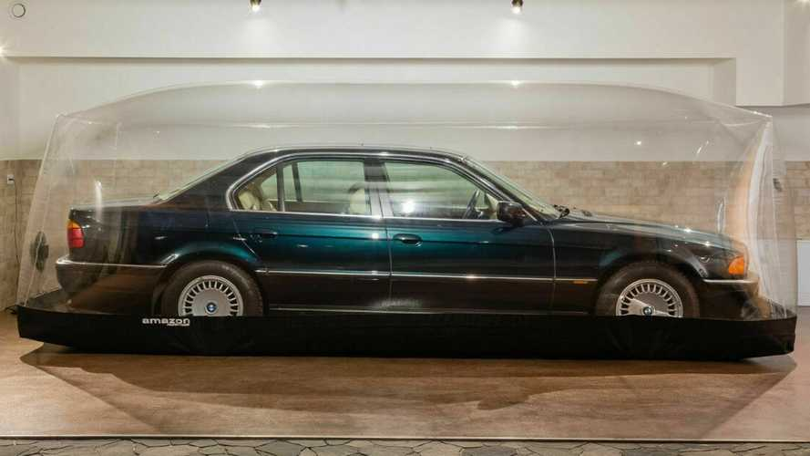 1998 BMW 7 Series preserved in a bubble for years comes up for sale