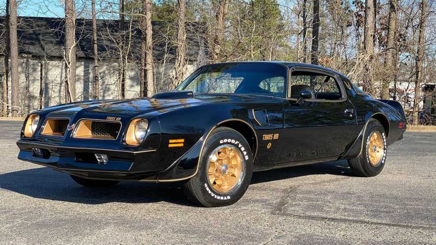 The Real Story Behind Pontiac's Black-And-Gold Trans Am