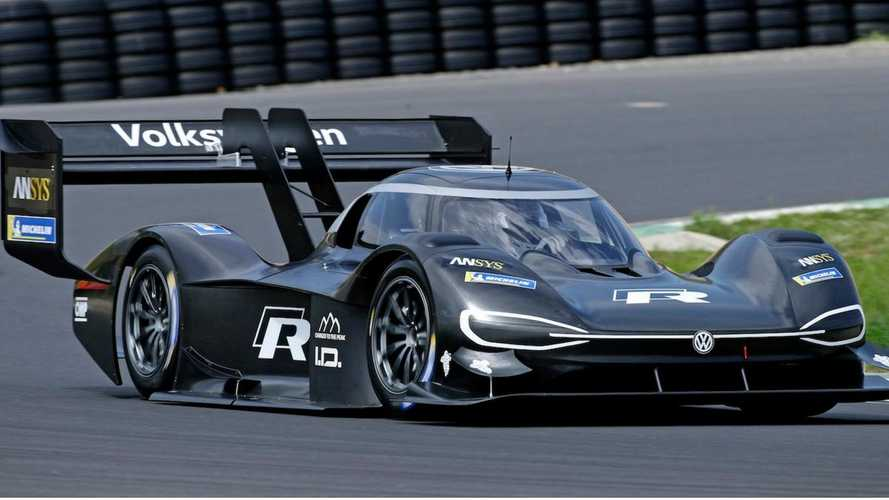VW unveils its 670bhp all-electric Pikes Peak potential record breaker